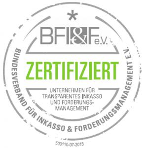 BFIF Zertifiziert